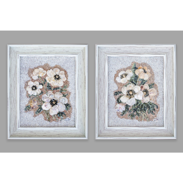 Polish poppies - diptych