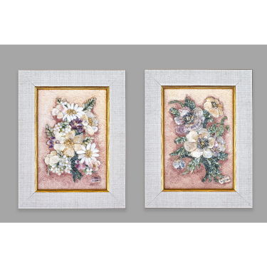 Flowers - diptych